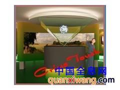 360全息投影幻影成像设备全息展览展示柜/3D立体展示