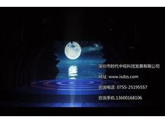 深圳触摸显示器专用全息投影膜,全息投影纱幕,透明液晶显示屏