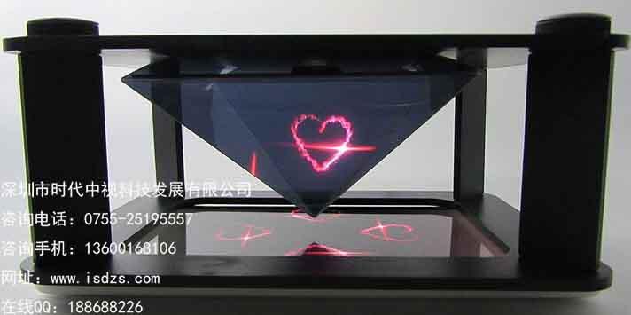 深圳全息展柜 全息3D展柜  异形展柜定制