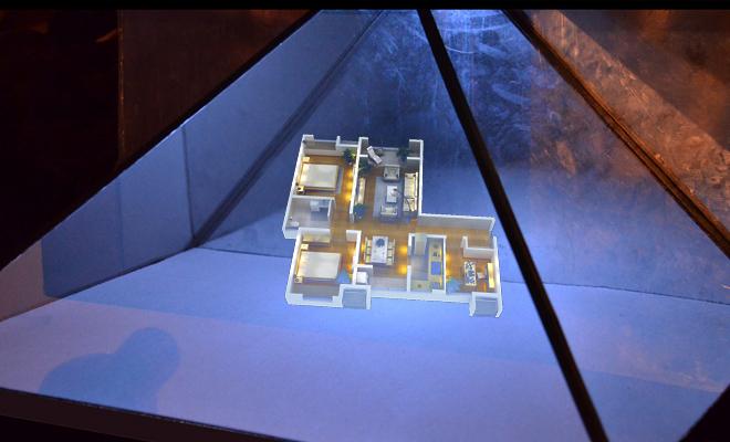 全息玻璃工厂 全息玻璃定制 全息展柜玻璃
