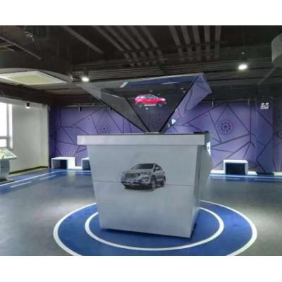 大尺寸定制360全息柜投影展柜,全息玻璃定制
