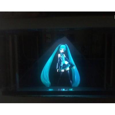 3D全息纱幕投影,舞台空气成像,3D全息