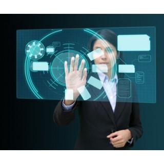 纳米触控膜厂家-橱窗全息投影触摸膜尺寸定制