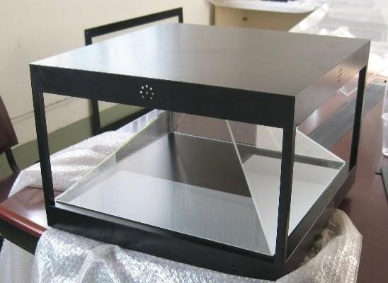 全息展柜玻璃,全息金字塔玻璃,深圳360展柜定制