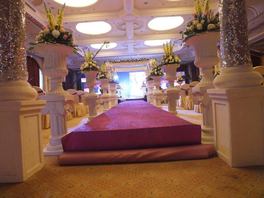全息3d沉浸式宴会厅,深圳全息投影婚宴设计