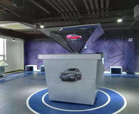 全息多媒体互动展厅、360度全息成像