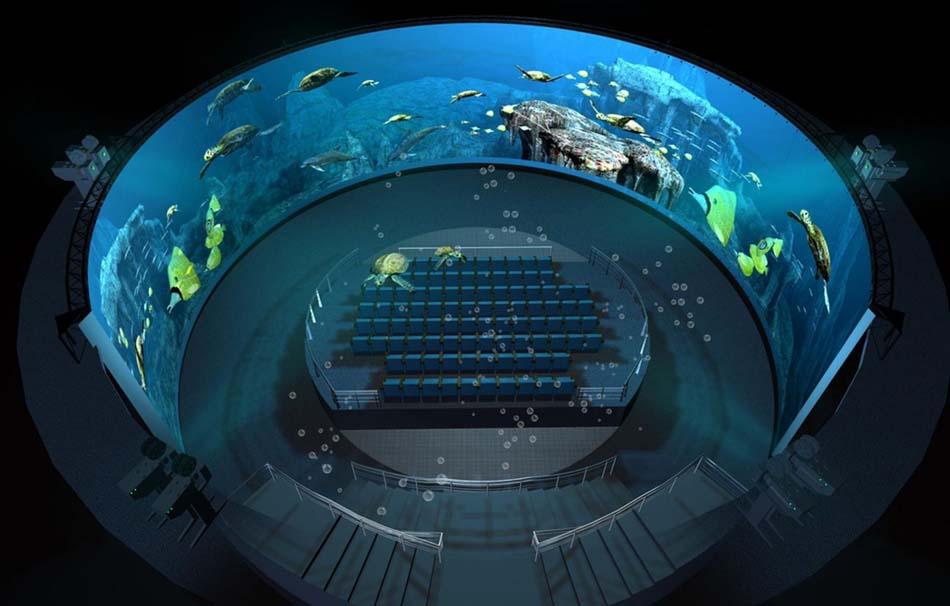 360度环幕投影 4D环幕动感影院 沉浸式影院