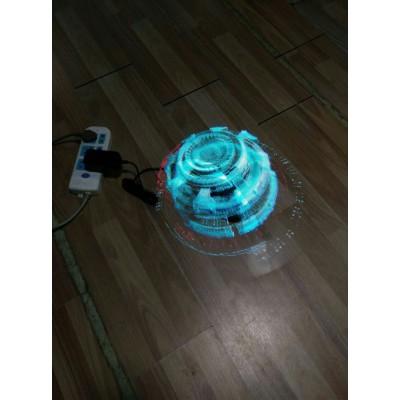 全息广告机,3D悬浮全息投影,全息小风扇