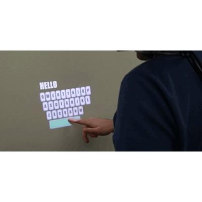 全息纳米触控膜,橱窗全息投影触摸膜尺寸定制