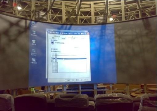 韩国进口3D透明全息膜、橱窗玻璃背投贴膜成像幕