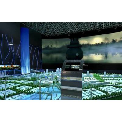 深圳全息展厅设计 多媒体展示 全息投影 互动投影
