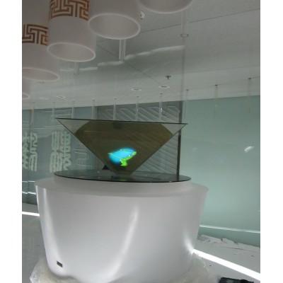 360度全息展示柜全息投影全息展柜幻影成像膜