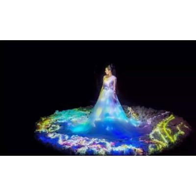 全息影像、全息投影、互动投影、全息技术、全息婚礼