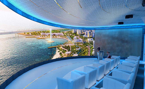 360度环幕投影 3D环幕影院 4D沉浸影院