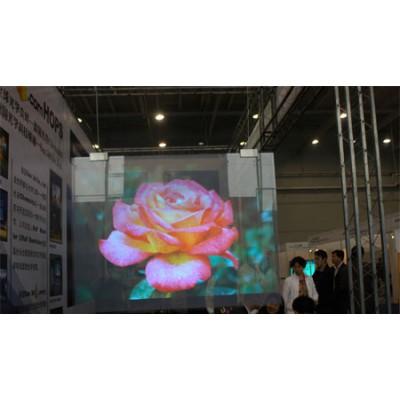 进口高清全息膜  全息玻璃 全息互动展示生产厂家