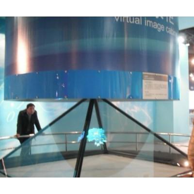 深圳3D全息展示柜|全息投影展柜|触控一体机
