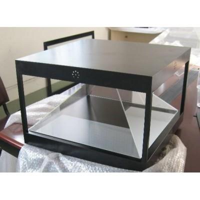 全息幻像玻璃侧悬浮全息空气成像270度360度3D全息展柜
