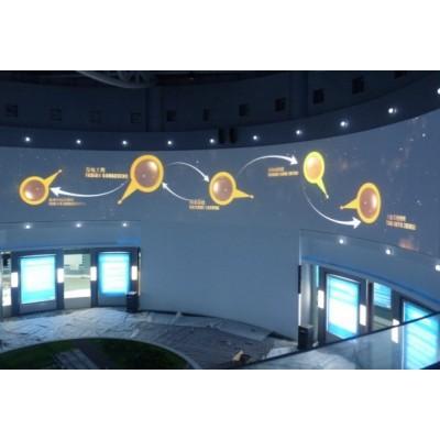 深圳全息膜背投玻璃贴膜投影仪互动投影膜全息投影
