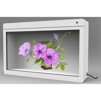 透明液晶显示屏 透明屏展示柜 透明屏