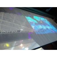 批发韩国进口贴膜幕、全息幕、透明膜、投影幕布