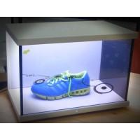 智能液晶玻璃,电控调光膜·多媒体透明展览柜
