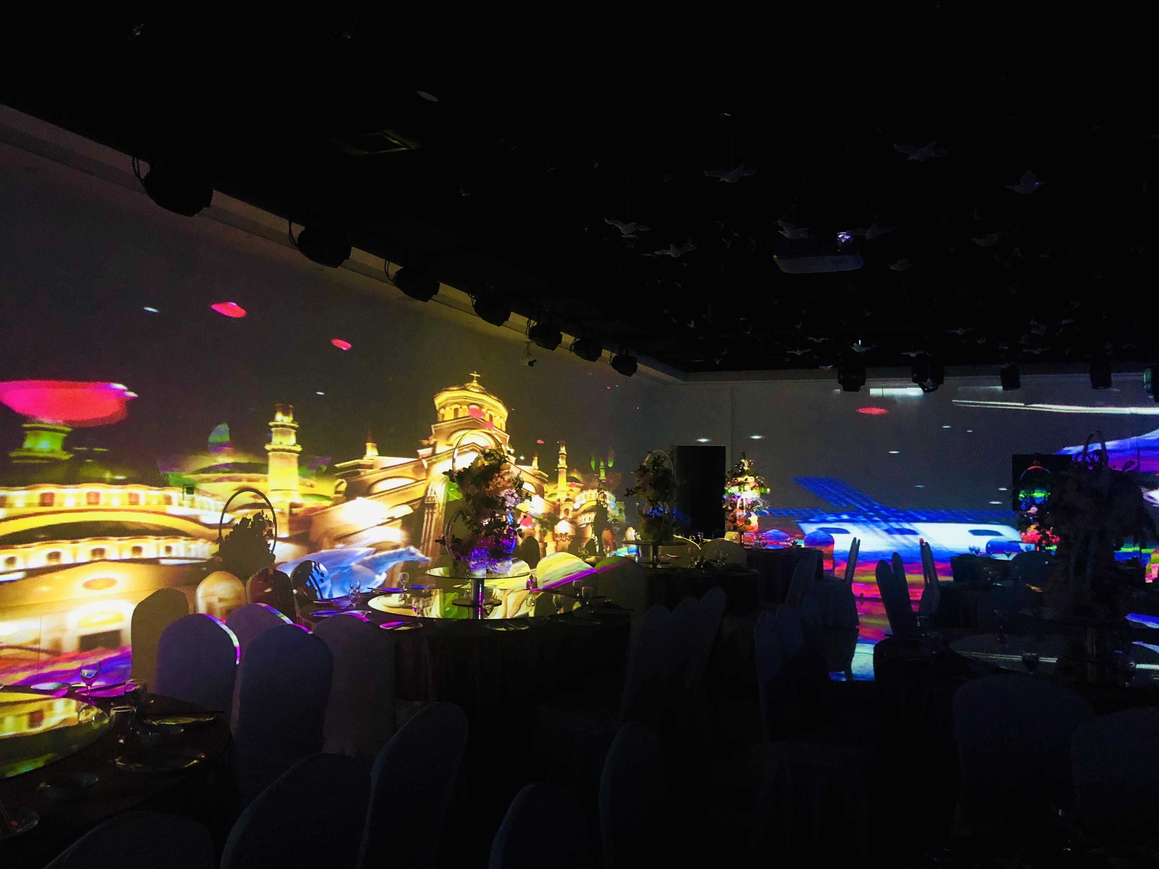 全息宴会厅,及其全息整装工程,泊漫科技让你眼前一亮