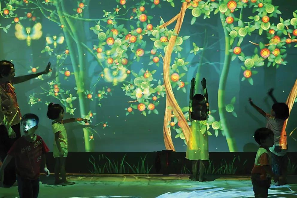 沉浸式互动体验馆,未来的游乐园!