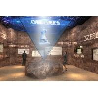 3D全息投影 互动投影 360度立体投影 裸眼3D方案