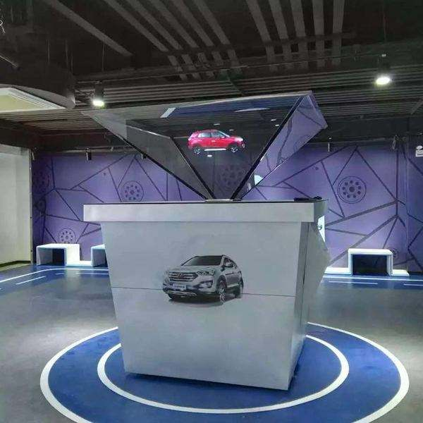 3D全息投影 全息展示柜价格 全息技术 全息案例视频