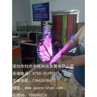 3D效果LED电风扇全息广告机led全息显示全息3D广告