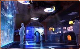 全息展柜,全息投影,立体投影,互动投影,数字展厅