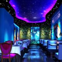 济南极光空间打造智能全息餐厅