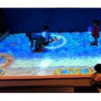 山东青岛教育会议一体机全息3D投影广告机全息地面墙面投影互动