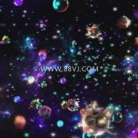 全息投影,星空宇宙全息投影,88vj全息投影素材