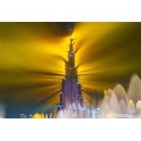 案例分享之迪拜哈利法塔灯光秀演