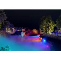 景区亮化公司提供专业的水景灯光设计