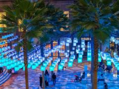 如何创意设计主题公园互动式灯光艺术装置 (3)