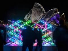 园林景区灯光艺术装置如何获得旅游价值和艺术生命? (2)