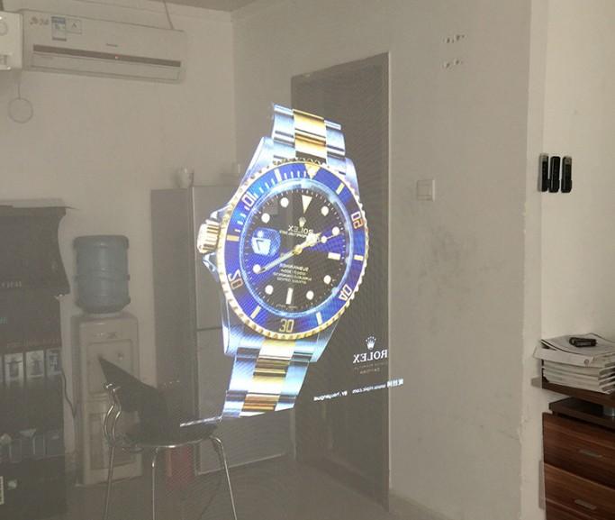 夜间橱窗投影 透明玻璃投影膜 全息透明投影膜 橱窗广告