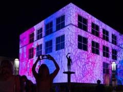 3D投影秀的类型:建筑投影秀、实景投影秀 (3)