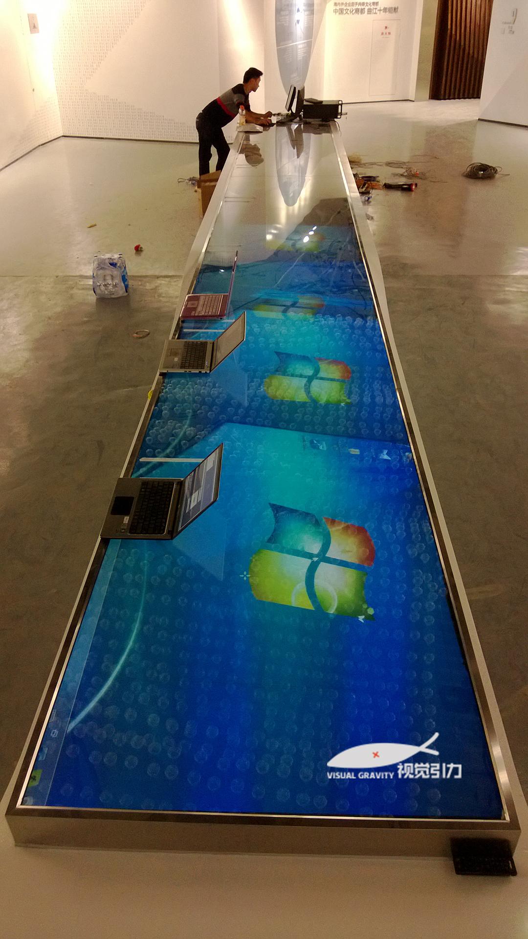 西安游戏互动长桌设备,互动长桌系统报价