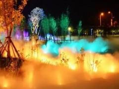 中艺光影承接雾森灯光设计夜游多场景服务