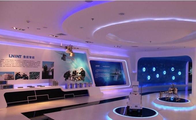 深圳全息互动投影 全息投影技术 全息多媒体展厅设计