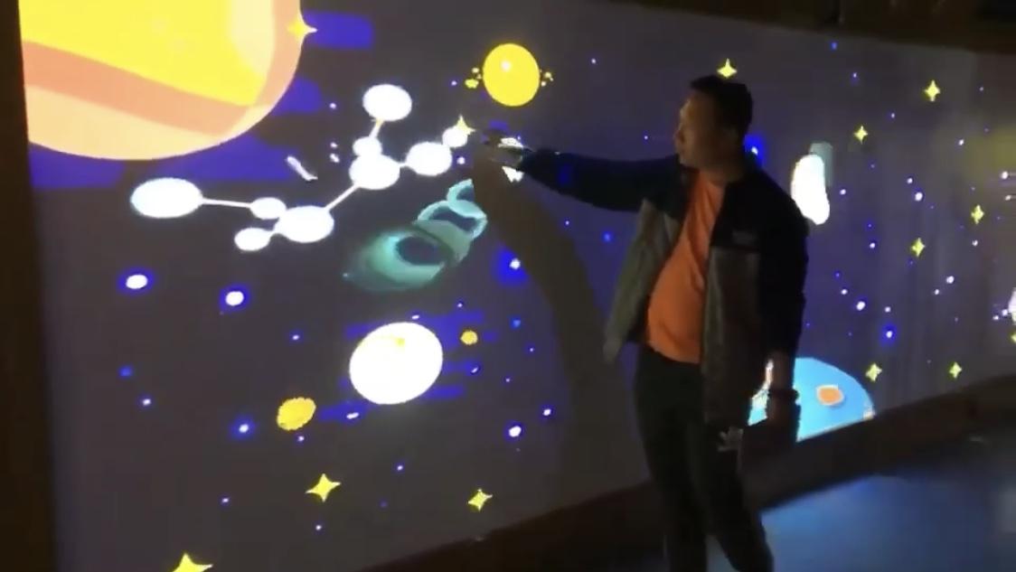 全息光影展太空学院