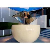 360度展示柜虚拟视频  沙盘模型 全息投影技术全息膜供货商