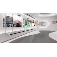 多媒体数字展厅移动滑轨屏