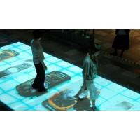 文旅景区夜游地面互动投影