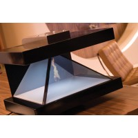 深圳供应息3D展示柜 全息玻璃  全息机柜 360度全息