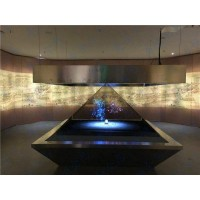 全息柜定制_全息3D展示柜_透明屏展示柜_全息投影
