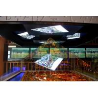 360度全息玻璃,全息投影技术幻影成像 展示柜
